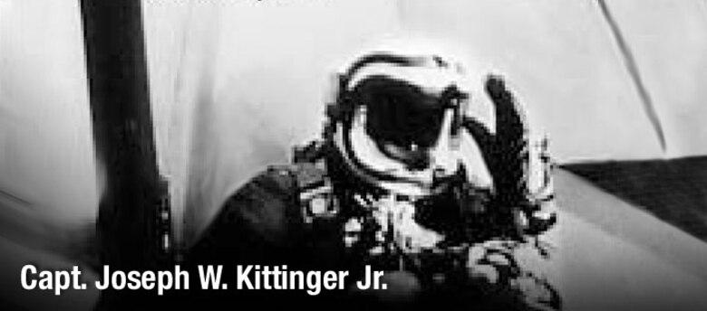 Capt. Joseph W. Kittinger Jr, history spotlight graphic, U.S. Air Force graphic