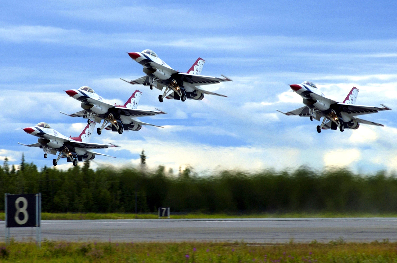 usaf thunderbirds to resume limited training flights > air combat usaf thunderbirds to resume limited training flights