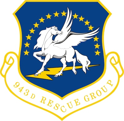 943rd Rescue Group unit shield