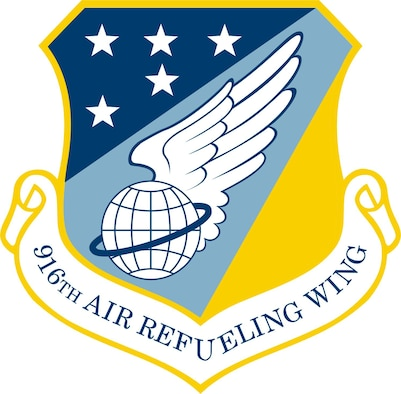 916th Air Refueling Wing unit shield