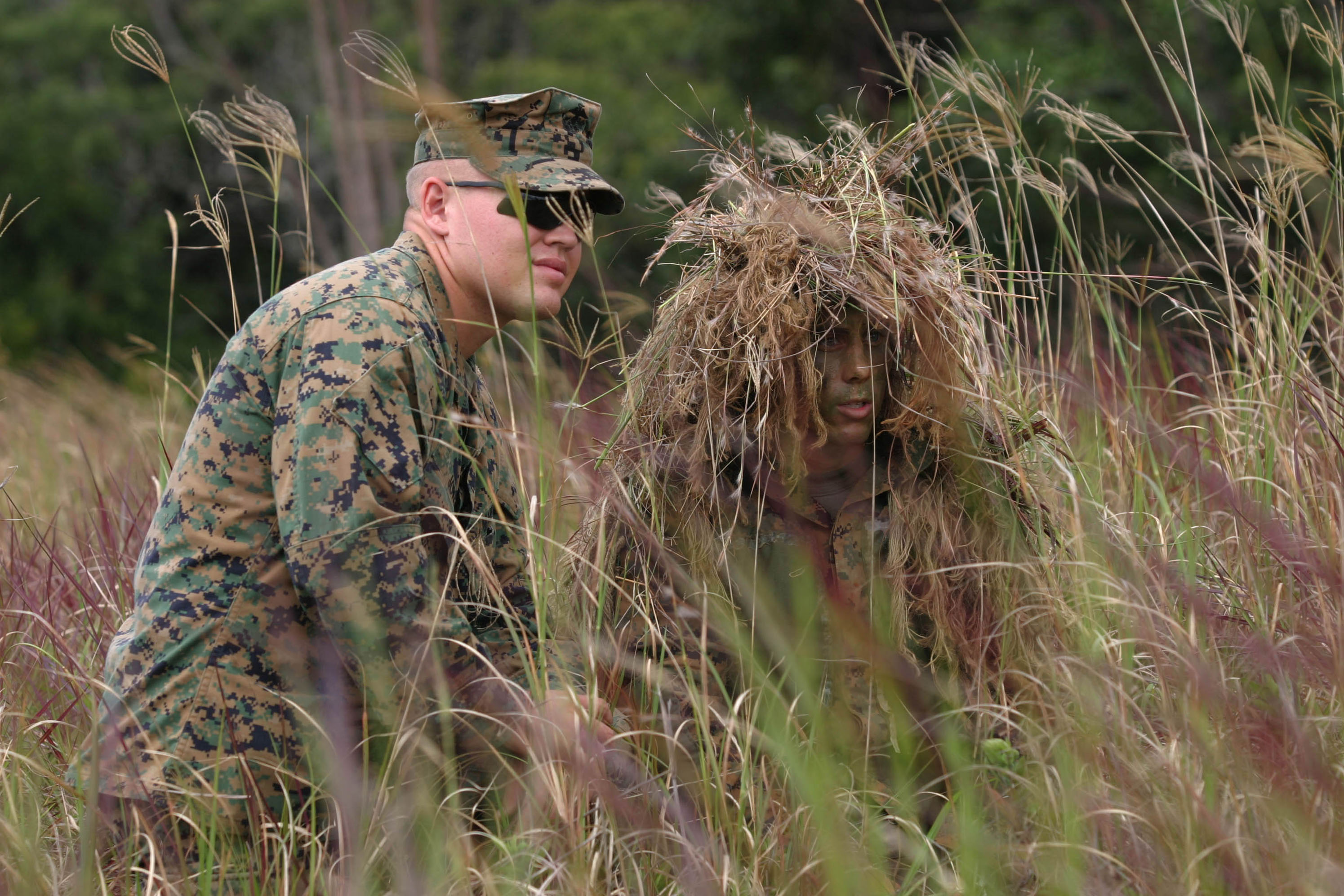 Silent scope: Sniper students learn the finer points of hide and ...