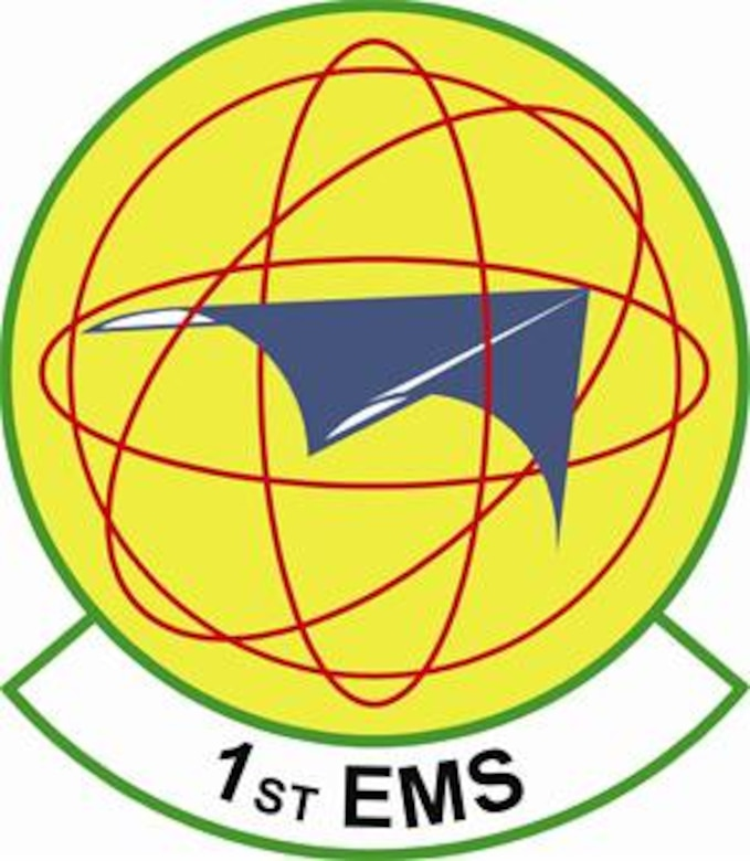 1st Equipment Maintenance Squadron shield (color) provided by 1st FW Public Affairs office.