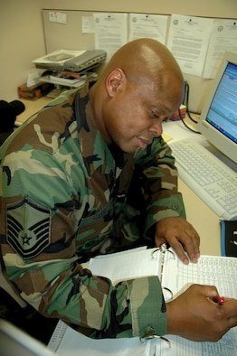 MCCHORD AIR FORCE BASE, Wash., - When not teaching at Franklin-Pierce High School in Tacoma, Stan Harris spends his free time in the Air Force Reserve with the 446th Aerospace Medicine Squadron as a substance abuse counselor.