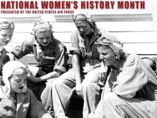 "Woman's History Month Wallpaper #1, 800x600. Created by SSgt Michele Thomas of the Air Force News Agency. INSTRUCTIONS FOR USING WALLPAPER: Getting Started: The wallpaper should first be downloaded to a folder on your computer. You can either create a new folder or place the image in an existing folder. Windows XP Users: Select ""Start,"" open ""Control Panel"" and select the ""Display"" icon to open the Display Properties panel. From the tabs across the top select ""Desktop"" and scroll through the ""Background"" selection box, to select ""Browse."" Navigate to the folder where you stored the wallpaper. Select and ""Apply"" the wallpaper and close the Display Properties window. MAC OSX Users: Open ""System Preferences"" from the Drop down Apple icon. Select the ""Desktop & Screen Saver"" icon. Select ""Desktop"" from the box at the upper center of the page. Then select ""Choose Folder"" in the scroll down box. Navigate to the folder where you stored the wallpaper. Once you have selected the wallpaper ""Apply"" it and then close the Desktop & Screensaver window"