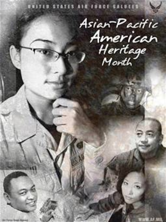 Asian pacific heritage month poster