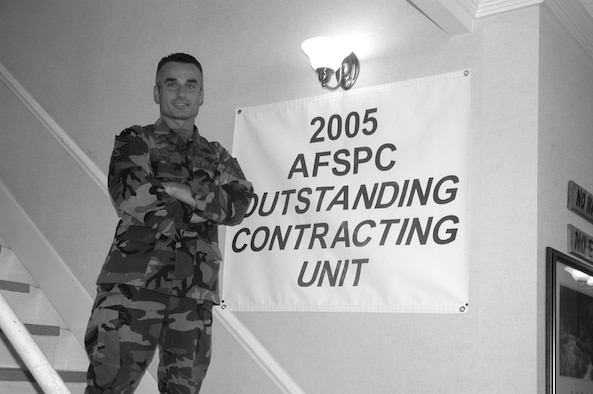 Senior Master Sgt. Michael Lemke was selected as one of the Air Force's 12 Outstanding Airmen of the Year 2006. Sergeant Lemke is the 90th Contracting Squadron superintendent.