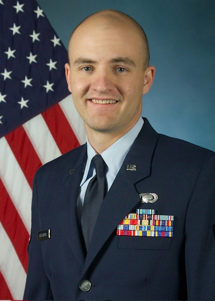 Staff Sgt. Jared Hershman, 566th Information Operations Squadron, was named the National Security Agency and Central Security Service Military Performer of the Year for 2005. (Courtesy Photo)