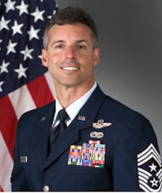 435th Air Base Wing Command Chief Master Sgt. David Spector