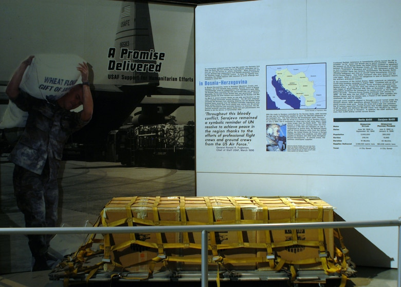DAYTON, Ohio - A Promise Delivered exhibit in the Cold War Gallery at the National Museum of the U.S. Air Force. (U.S. Air Force photo)