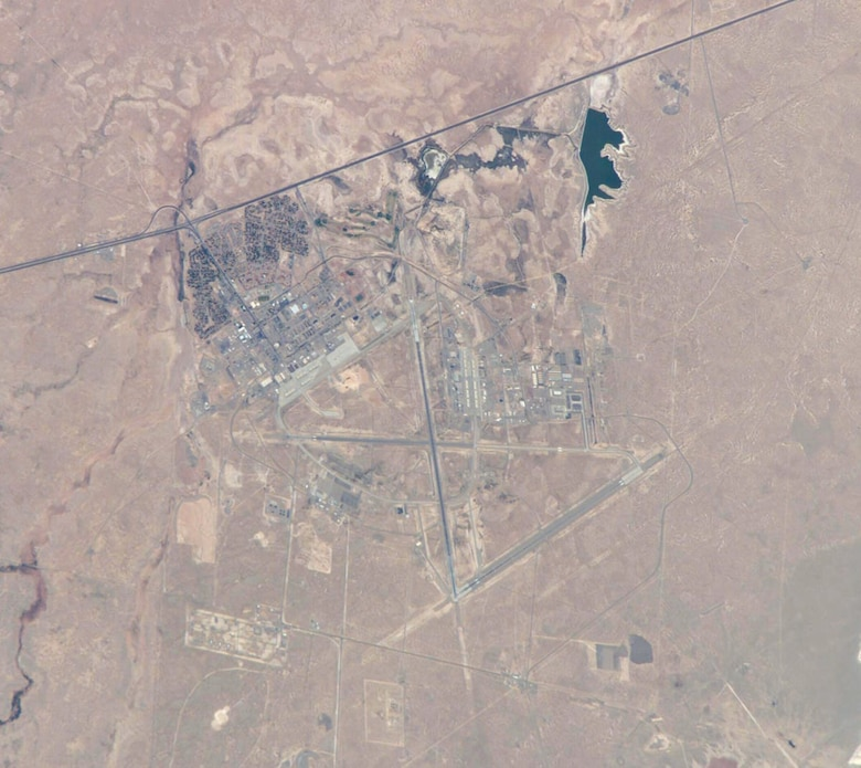 Holloman from ISS