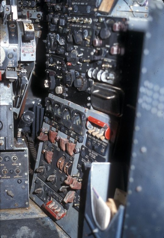 DAYTON, Ohio -- Douglas RB-66B cockpit at the National Museum of the United States Air Force. (U.S. Air Force photo)