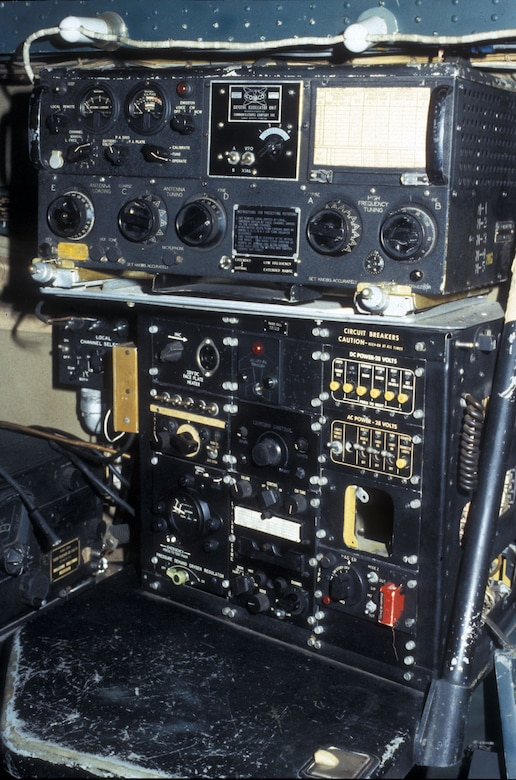 DAYTON, Ohio - Convair B-36J Peacemaker instrument components at the National Museum of the U.S. Air Force. (U.S. Air Force photo)