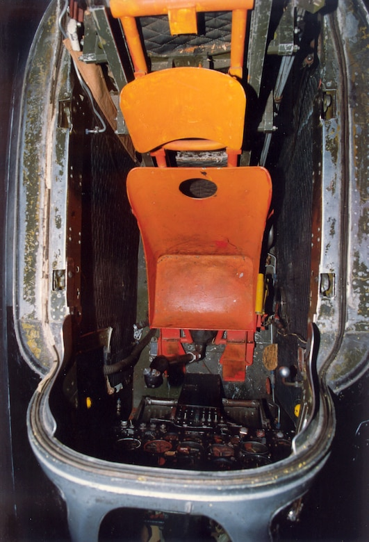 DAYTON, Ohio -- Bell X-1B cockpit at the National Museum of the United States Air Force. (U.S. Air Force photo)