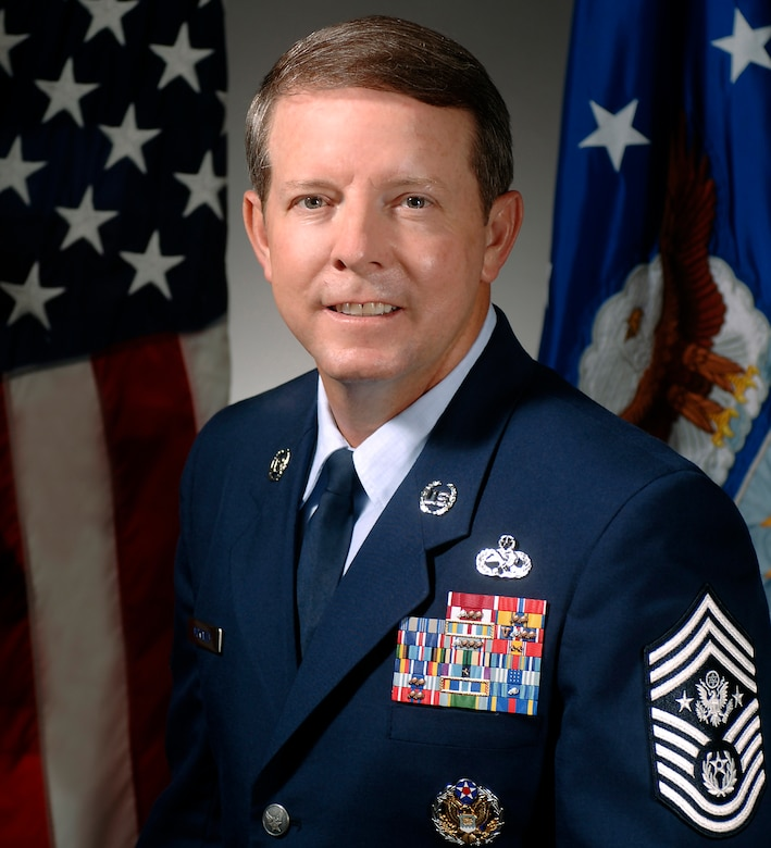 Chief Master Sgt. of the Air Force Rodney McKinley (U.S. Air Force photo)