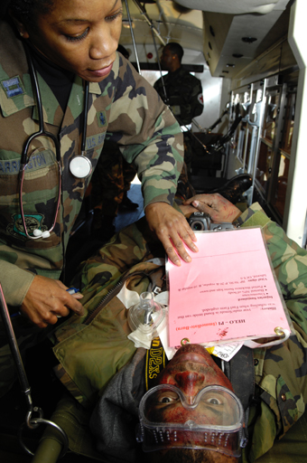 My Chart Community Medical: Reservists participate in joint medical exercise e 459th Air ,Chart