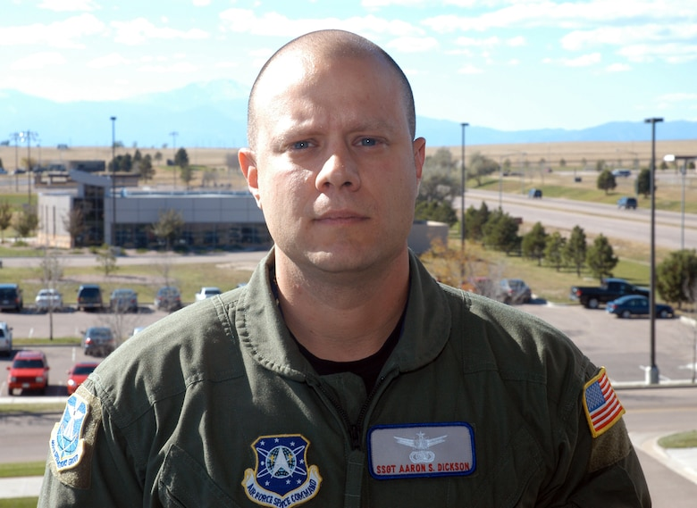 Staff Sgt. Aaron Dickson hails from Kittanning, Pa., and is a mission instructor for the 460th Operations Group, Detachment 1.
