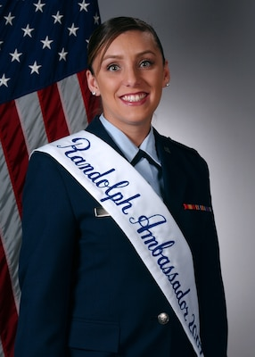 2nd Lt. Jennifer Ferrer, Air Force Occupational Measurement Squadron