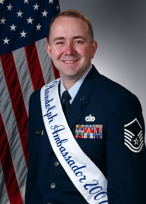 Master Sgt. Jeff Womack, Air Education and Training Command, Computer Systems Squadron.