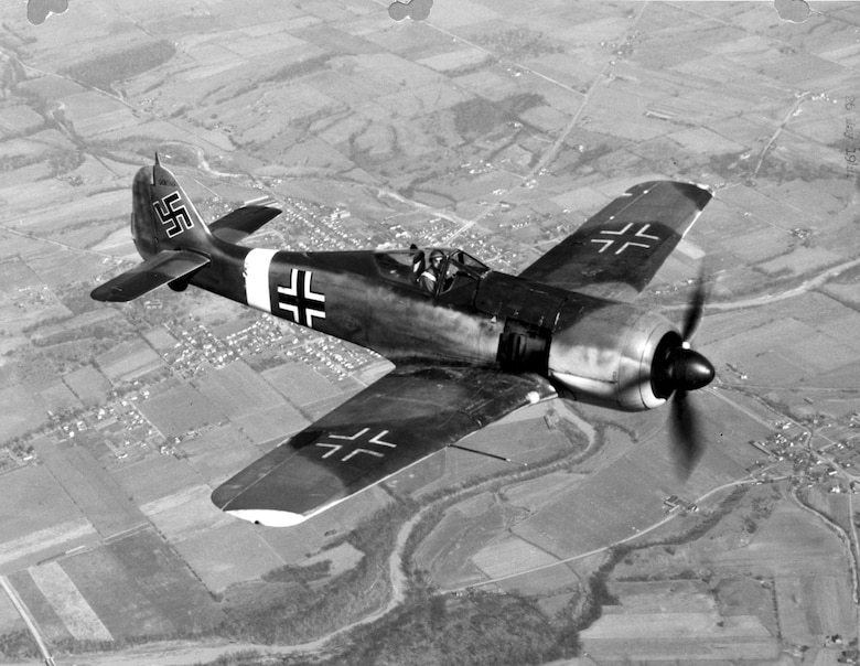Focke-Wulf Fw 190. (U.S. Air Force photo)