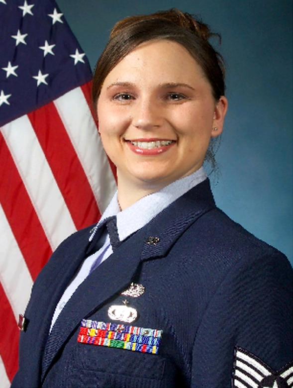 This week's Star Performer, Staff Sgt. Elizabeth Fontenot, hails from Eurika, Calif., and works in the 460th Military Equal Opportunity Office.