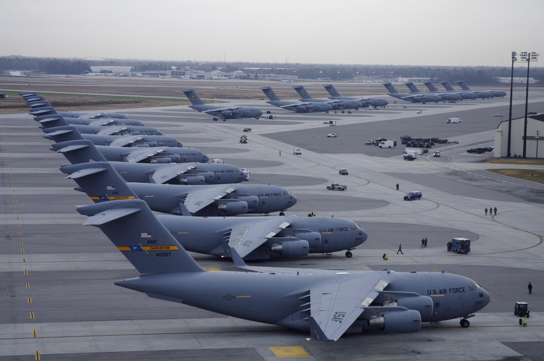 Globemasters Galore U S Air Force Article Display