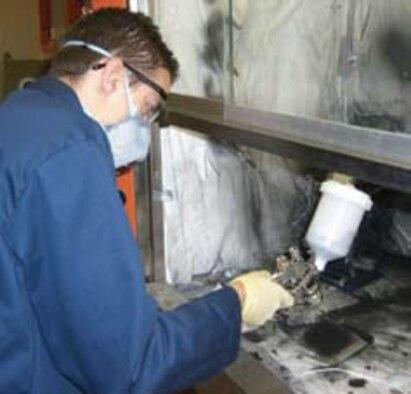 AFRL Scientists Identify Method for Applying EMI Shielding Materials