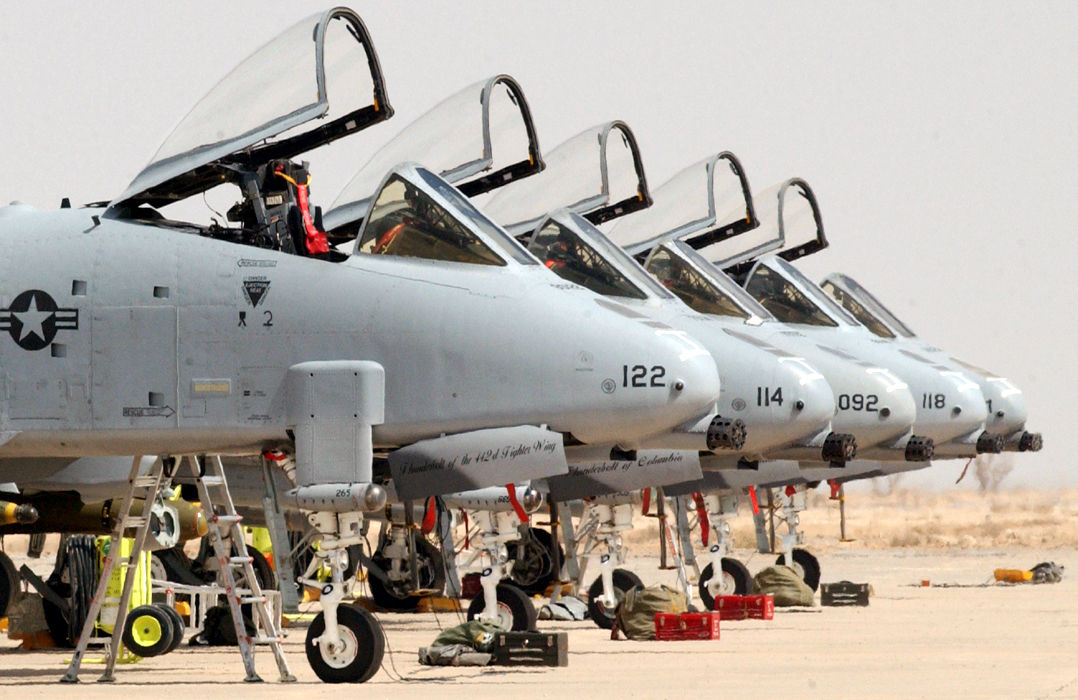 A-10 Thunderbolt II > U S  Air Force > Fact Sheet Display