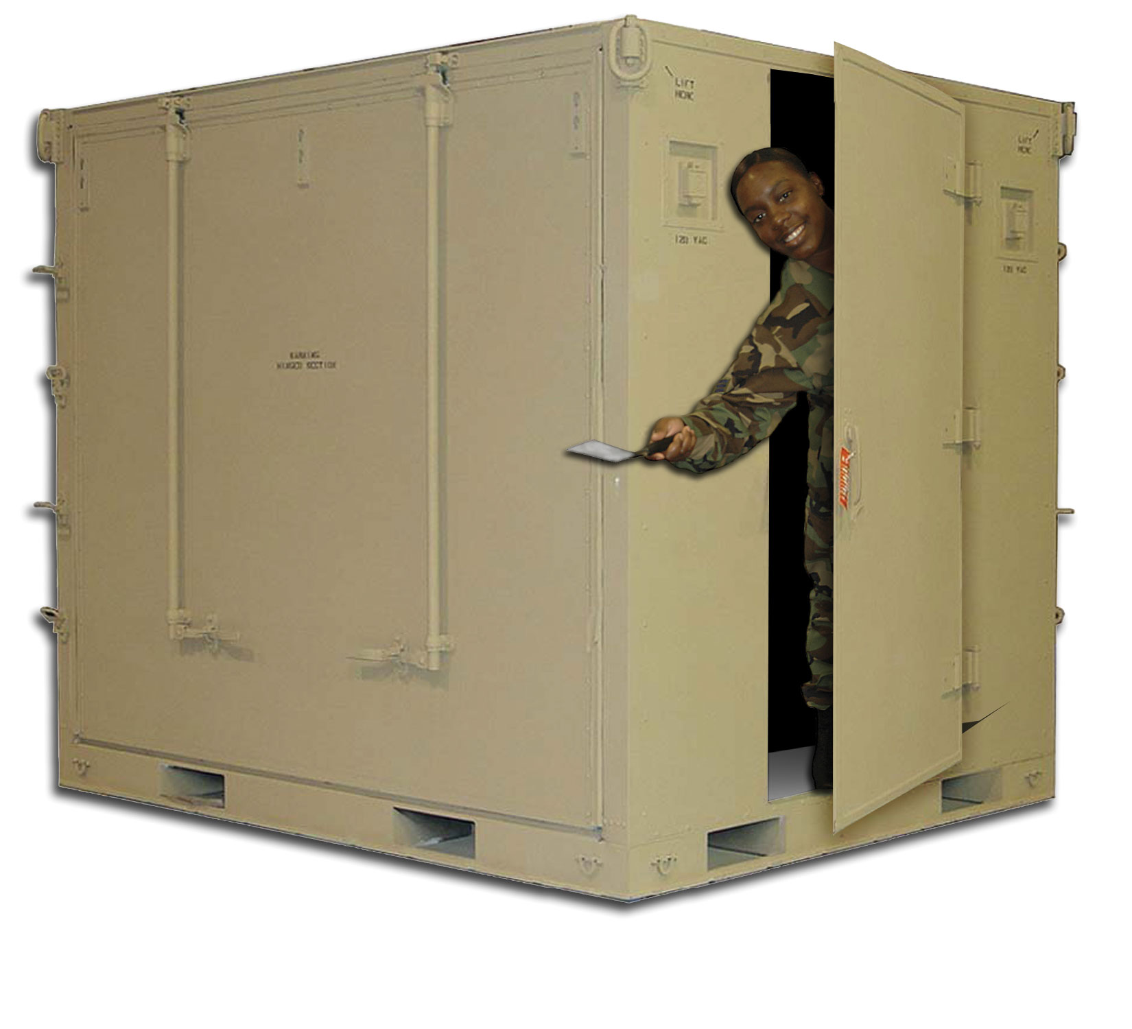 Kitchen in a Box 403rd Wing Article Display