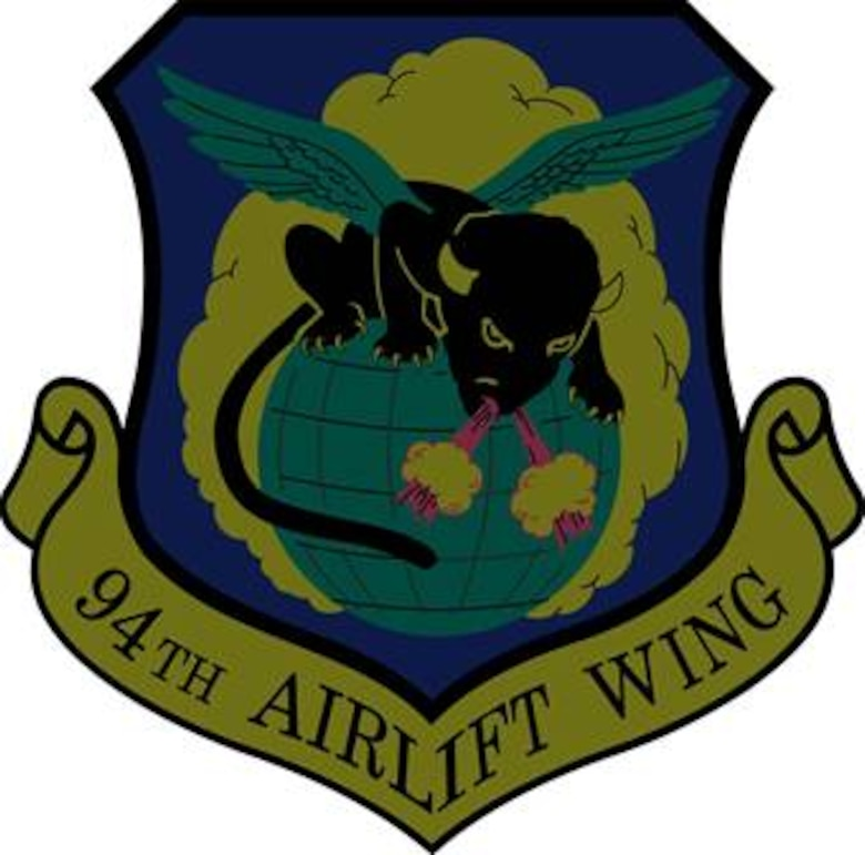 94th Airlift Wing subdued shield