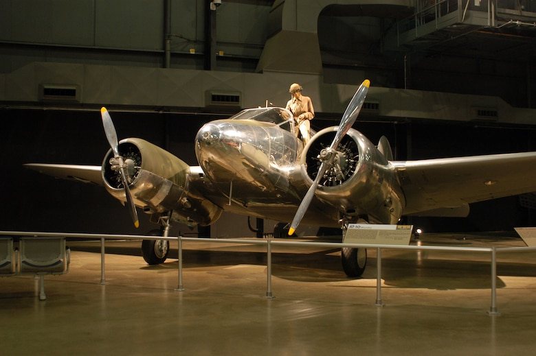 DAYTON, Ohio -- Beech AT-10 Wichita in the World War II Gallery at the National Museum of the United States Air Force. (U.S. Air Force photo)