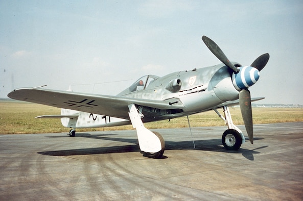 DAYTON, Ohio -- Focke-Wulf Fw 190D-9 at the National Museum of the United States Air Force. (U.S. Air Force photo)