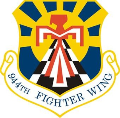 944th Fighter Wing unit shield
