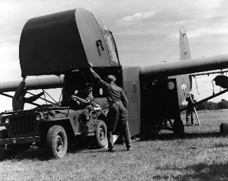 Glider operations were critical to the 1 ACG in the Burma campaign. Once released from the C-47 tow aircraft, they silently soared into a landing zone with critical cargo like troops and jeeps.