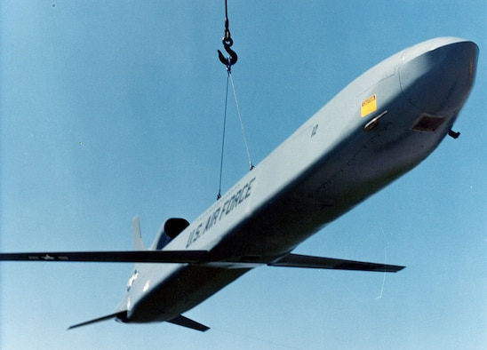 DAYTON, Ohio -- Boeing AGM-86B (ALCM) at the National Museum of the United States Air Force. (U.S. Air Force photo)