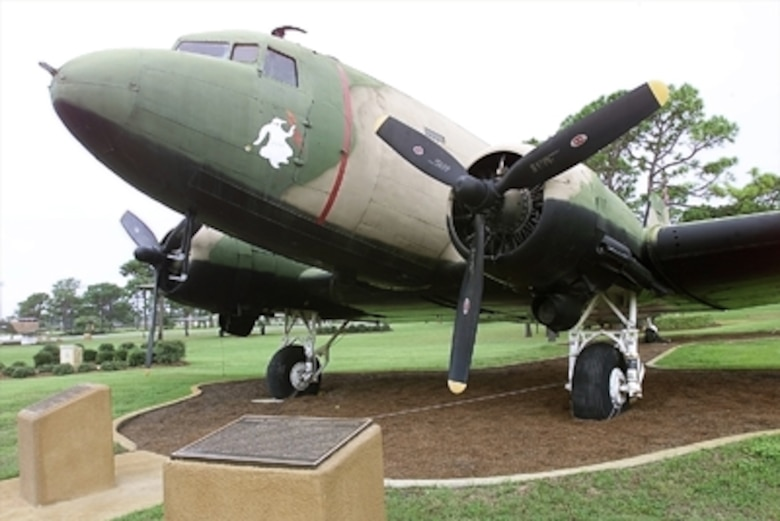 The C-47 Skytrain, Gooney Bird or Dakota, regardless of its nickname, was quite probably the most successful aircraft ever developed. Approximately 13,000 C-47 variants were produced including more than 2,000 built in foreign countries under license. At one time the DC-3 or C-47 was in service in more than 40 countries.