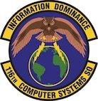 116th Computer Systems Squadron patch