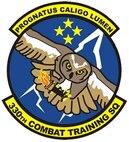 330th Combat Training Squadron patch