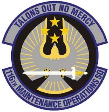 116th Maintenance Operations Squadron patch