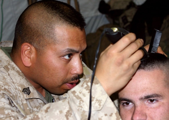 marine corps haircut regulations keeping the command element running gt 22nd marine 3046 | 060131 m 7976m 001
