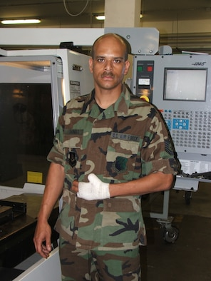 Tech. Sergeant Charles Thomas, 31st Maintenance Squadron, lost two of his fingers and his thumb during a firework mishap New Year's morning.