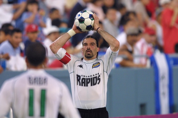 Renowned National Soccer Hall of Fame Member Marcelo Balboa is to USAFE bases July 10-15 to promote the eXtreme summer '06 program
