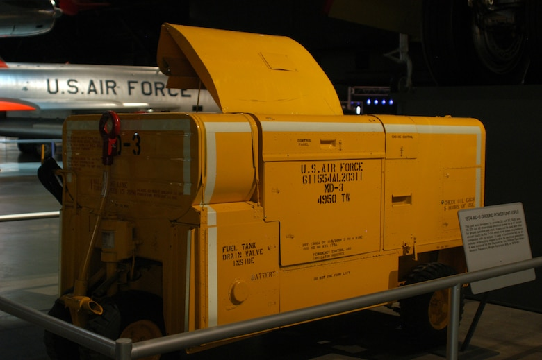 DAYTON, Ohio - MD-3 Ground Power Unit in the Cold War Gallery at the National Museum of the U.S. Air Force. (U.S. Air Force photo)