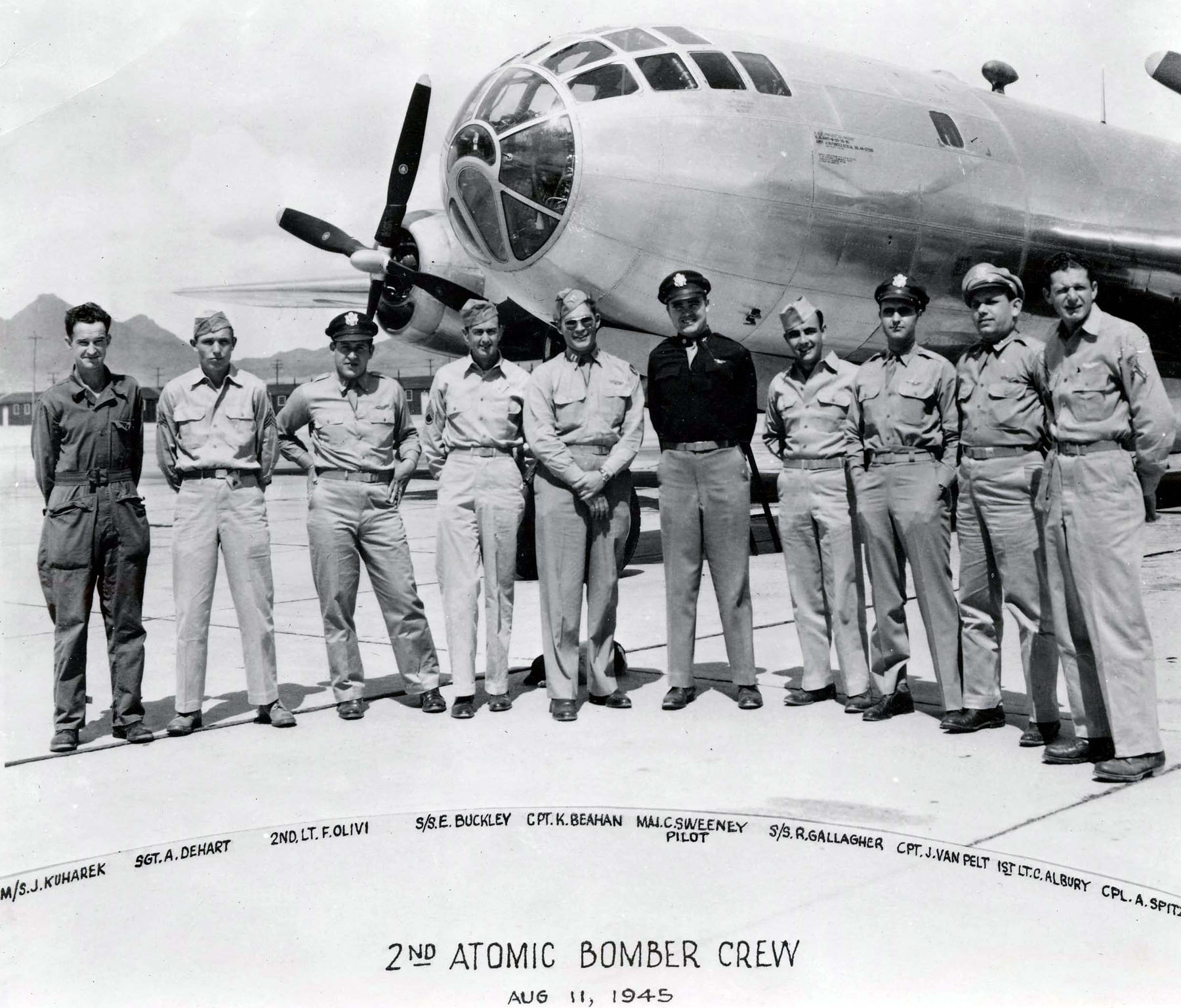 from Saul atomic bomb enola gay man mission