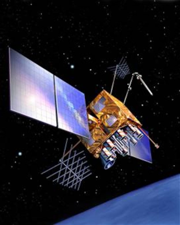 Global Positioning System (GPS) Block IIR, supported by the 2nd and 19th Space Operations squadrons at Schriever Air Force Base, Colo. Image courtesy of Lockheed-Martin for Department of Defense and media publications; use for commercial purposes is prohibited.