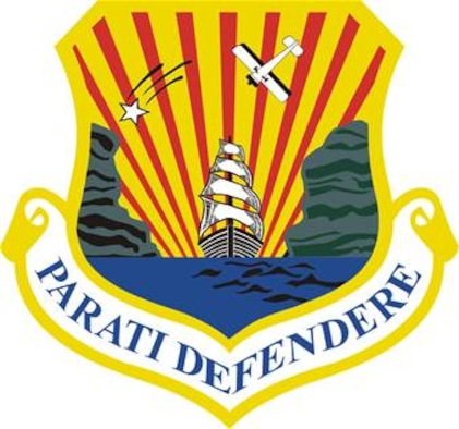 6th Air Mobility Wing Shield