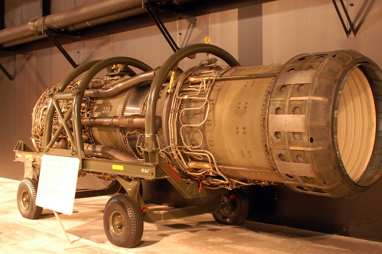 DAYTON, Ohio -- Pratt & Whitney J-58 at the National Museum of the U.S. Air Force. (U.S. Air Force photo)