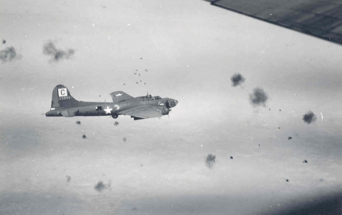 Boeing B-17F of the 96th Bomb Group. (U.S. Air Force photo)
