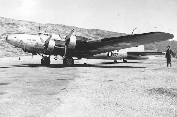 """Boeing B-17G """"Shoo Shoo Shoo Baby.""""  The aircraft carried the name """"Store Bjorn"""" while in service with Denmark. (U.S. Air Force photo)"""
