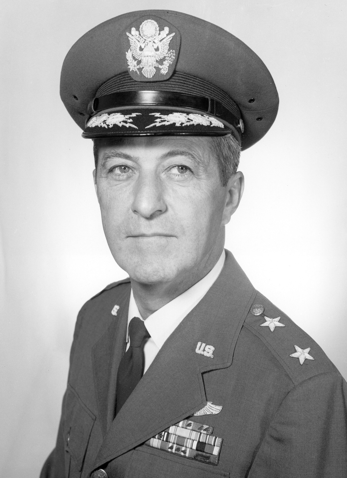 Major General Fred J Ascani U S Air Force Biography Display
