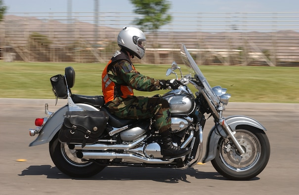 Air Force motorcyclists are required to pass an in-house motorcycle  safety course before they are permitted to ride.  Nellis offers two motorcycle classes under the Motorcycle Safety Foundation.  The Basic Rider's Course is a three-day course that teaches the basic fundamentals of riding. The Experienced Rider's Course is a one-day course designed for riders with six months or more experience.
